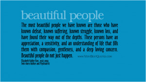 inspirational quotes beautiful people