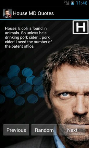 View bigger - House M.D. Quotes for Android screenshot