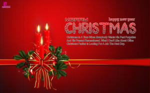 Merry Christmas Wishes Cards with Quotes and Sayings