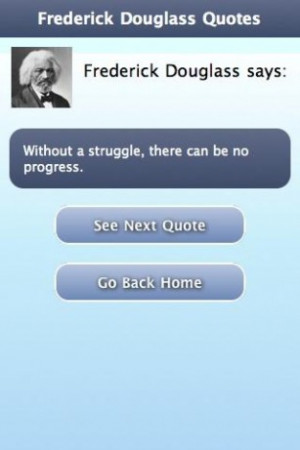 View bigger Frederick Douglass Quotes for Android screenshot