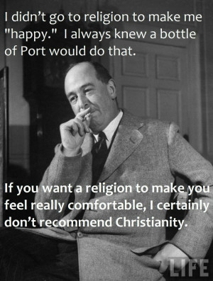 ... lots of editing work to do for the morning, so here is C. S. Lewis