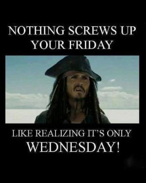 Oh Man Only Wednesday?
