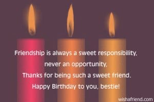 DEAR FRIEND QUOTES FOR BIRTHDAY