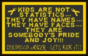 kids are not stats # childhoodcancer # awareness