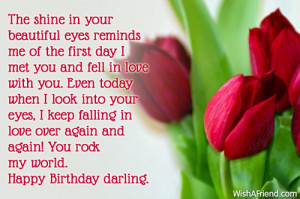 Birthday Quote For Wife