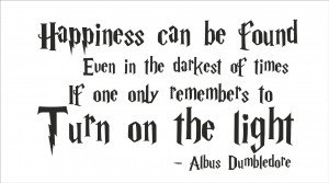 Harry Potter Quote #1