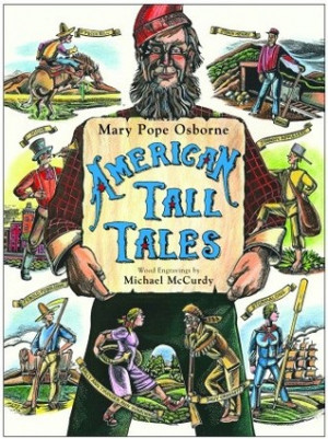 """Start by marking """"American Tall Tales"""" as Want to Read:"""