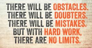 Dan Gable Quotes Hard Work   blind # path # life