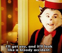 cat, funny, funny gif, gif, the cat in the hat