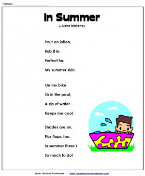 summer poem a poem for summer