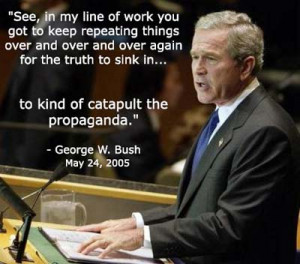 Listento audio clip of this Bushism