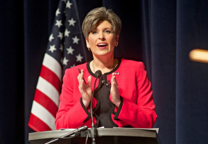 Image: Poll: GOP's Joni Ernst Holding on to Slim Lead in Iowa Senate ...