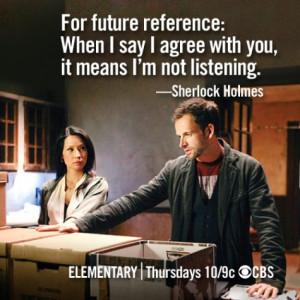 Elementary » et le Sherlock Holmes de CBS : les seuls accros, c'est ...