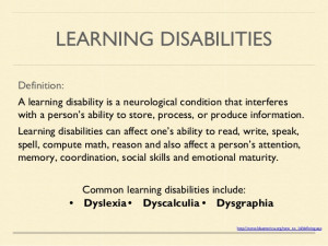 Learning Disability Quotes Learning Disabilities Can