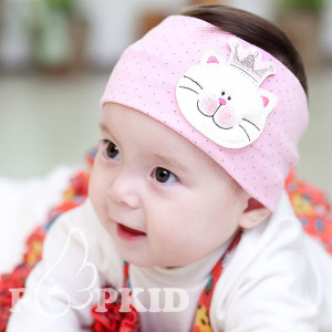 New-arrival-20pcs-lot-baby-cotton-headbands-princess-baby-girl-dot ...