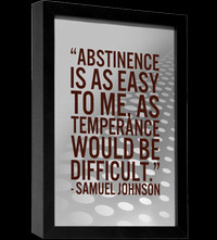 abstinence quote samuel johnson