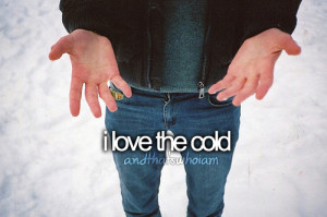 andthatswhoiam, cold, quote, tumblr, who i am