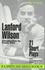 Lanford Wilson 21 Short Plays