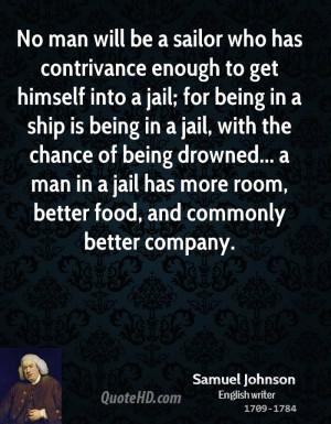 Samuel Johnson Food Quotes