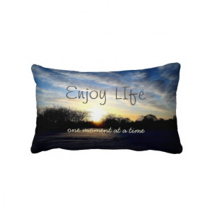 Inspiring Life Moments Quote Throw Pillow *All of the gross profits ...