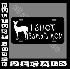 Hunting license plate, Deer Hunting , country, cowgirl, cowboy, bambi ...