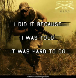 marines inspirational quotes