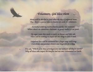 Volunteer Poem Prayer Hummingbird Print Personalized | eBay