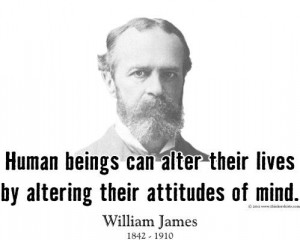 ThinkerShirts.com presents William James and his famous quote