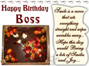 ... 2015 - Happy Birthday Wishes - Tagged: Birthday wishes for boss