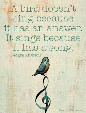 ... Quote, Quotes Bird, Birds Songs, Inspirational Art Quote, Life