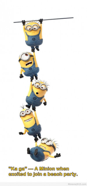 Funny Minions moment image