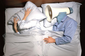 Snorers may have to face up to more than an unhappy partner Getty ...