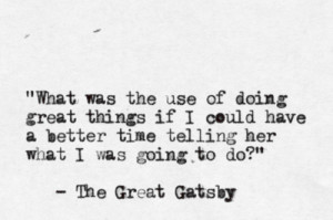 Tags: Gatsby , quotes ,