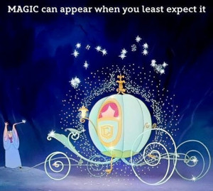 Cinderella Fairy Godmother Magic quote via www.Facebook.com/Disney