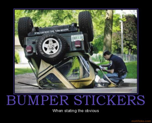 Funny Jeep Bumper Stickers