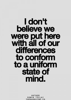 ... image include: quotes, non-conformity, fair, individuality and life