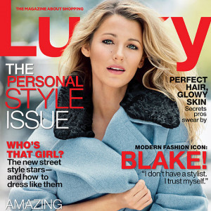 Blake Lively Quotes in Lucky September 2013