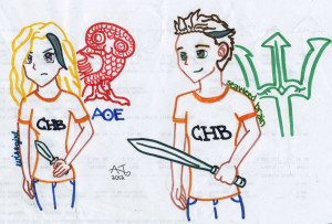 Seaweed Brain and Wise Girl: Percabeth by amueture