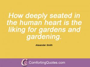 Alexander Smith Quotations