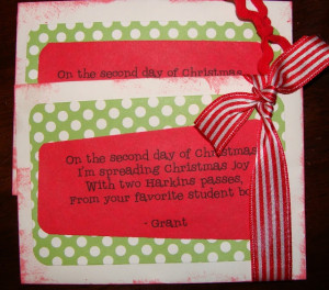 ... 12 days of Christmas gift ideas - Teachers, Neighbors, Secret Santa