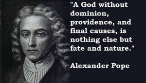 Alexander pope famous quotes 1