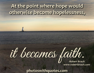 Faith Quotes on Pictures and Images for Inspiration
