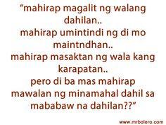 Feeling Mayaman Tagalog Quotes