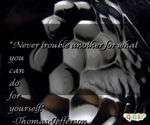 Trouble Quotes