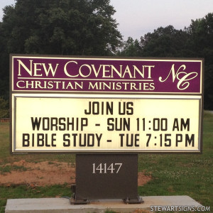 Church Sign For New...