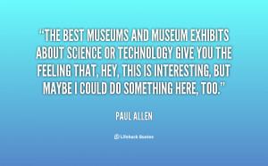 Quote Paul Allen The Best...