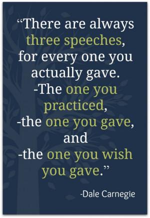In speaking #atozchallenge , Dale Carnegie quote , public speaking ...