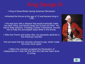 revolution king pittmandisregard the king charlotte of king george ...