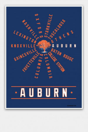 Auburn, Alabama from Prinstant Replays