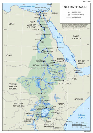 The Geopolitics of Water in the Nile River Basin
